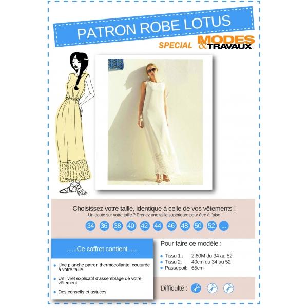 Manuel de montage Robe Lotus